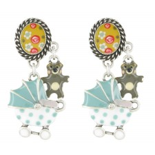 Taratata Poupon Earrings (Stroller)