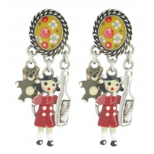 Taratata Poupon Earrings (Sleeper Doll)