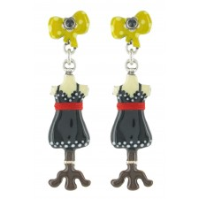Taratata Bobine Earrings (Ribbon)