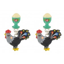 Taratata Coquette Earrings(Egg Cup)