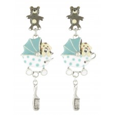 Taratata Poupon Earrings(Teddy Bear)