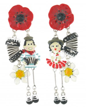 Taratata 14 Juillet  Earrings(Non Identical)