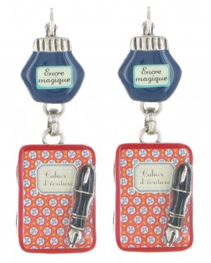 Taratata Papier Carbone Earrings(Journal)