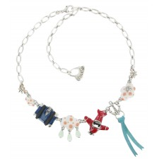 Taratata Transatlantic Necklace (3 Clouds)