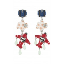 Taratata Transatlantic Earrings (Baggage)