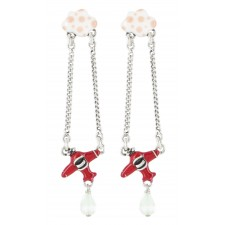 Taratata Transatlantic Earrings (Petit Plane)