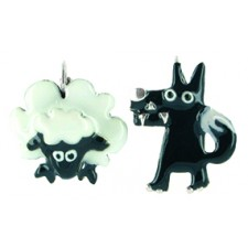 Taratata Taraboum Earrings Wolf & Lamb
