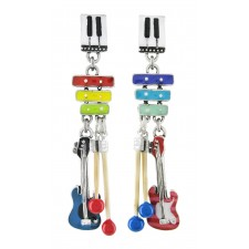 Taratata Jimi Earrings(Guitar Non Identical)