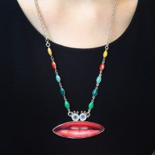 Taratata Bidule Necklace (Da Mouth)
