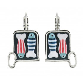 Taratata A l'huile Earrings(Sardine)